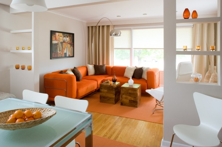Modern and Colorful Home Decor Orange County