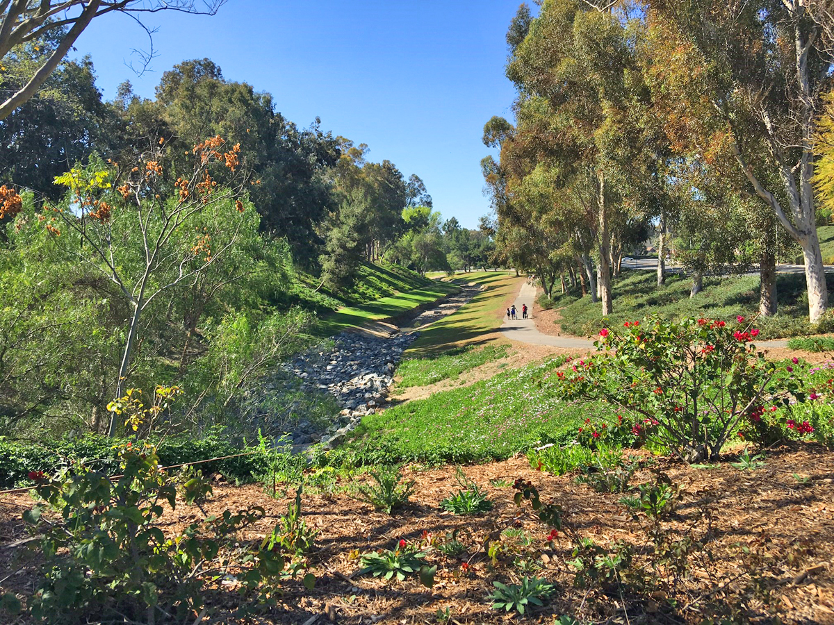 Oso Creek Trail and Jeronimo Open Space in Mission Viejo