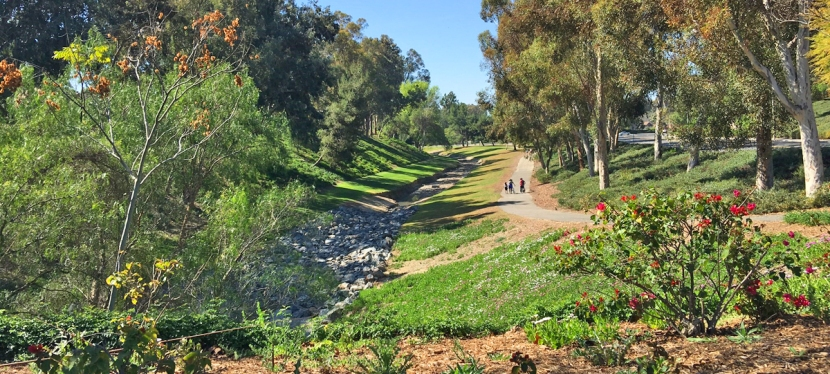 Oso Creek Trail in Mission Viejo