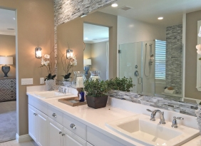 Master Bathroom Oakmont Plan 1 Beacon Park