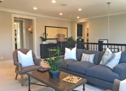 Oakmont Plan 3 Beacon Park Irvine Bonus Room or Loft Upstairs