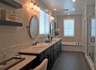 Master Bathroom Oakmont Plan 3 Model Home Beacon Park
