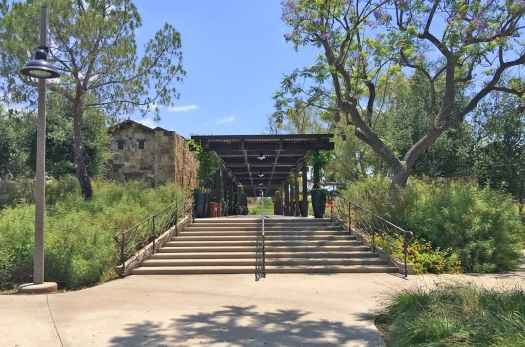 Entry Stairs to Pavilion Park Terrace Irvine