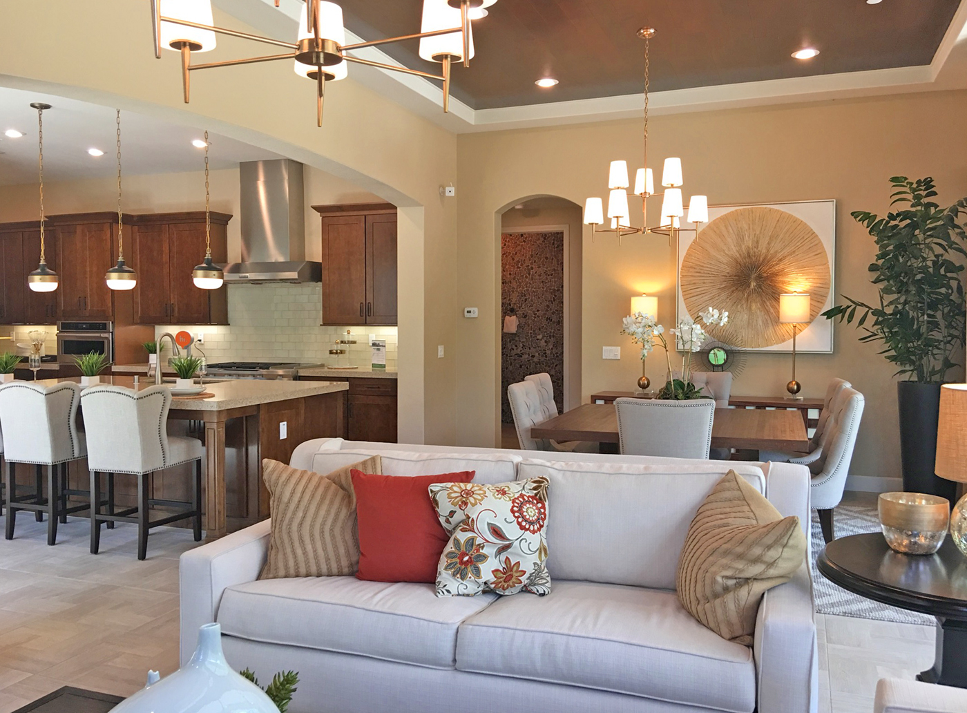 Furniture from model homes for sale orange county