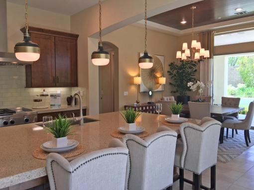 Juniper Plan 2 Kitchen and Dining Room Beacon Park Irvine