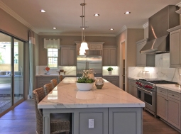 Kitchen island Juniper Plan 3 Beacon Park Irvine