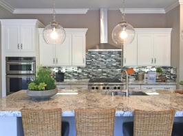 Model Home with granite Counter Tops