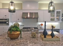 Irvine Model Home with Granite Counter Tops Kitchen