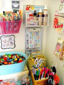 organize arts and crafts