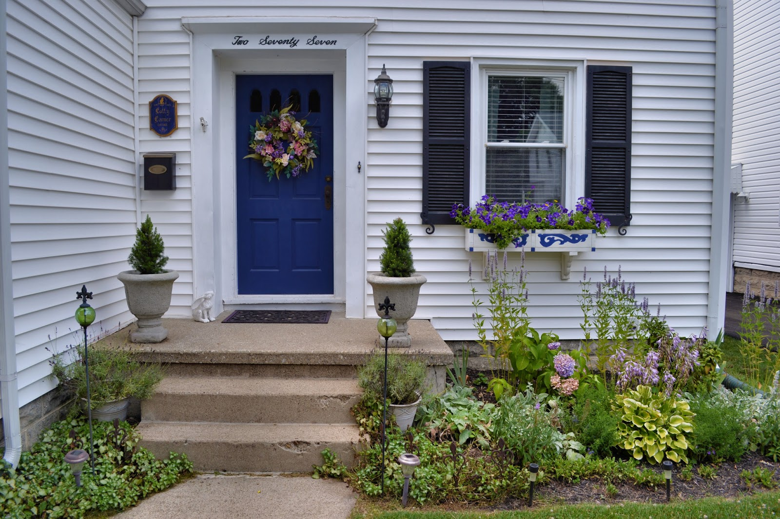 curb appeal painted porch