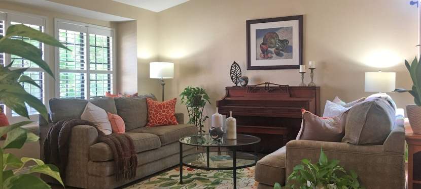 Staging the Living Room to Sell Your Home
